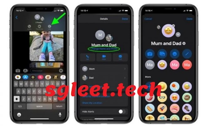 How to Change and Add Profile Picture to iMessage Groups