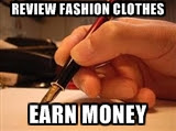 earn money writing reviews of fashion trends