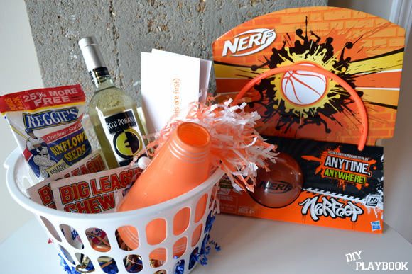 March Madness Basketball Gift Basket Sports