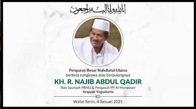 KHR Najib Abdul Qadir Meninggal Dunia
