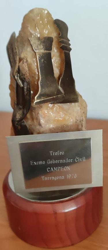 Trofeo del Campeonato Provincial de Ajedrez de Tarragona de 1976