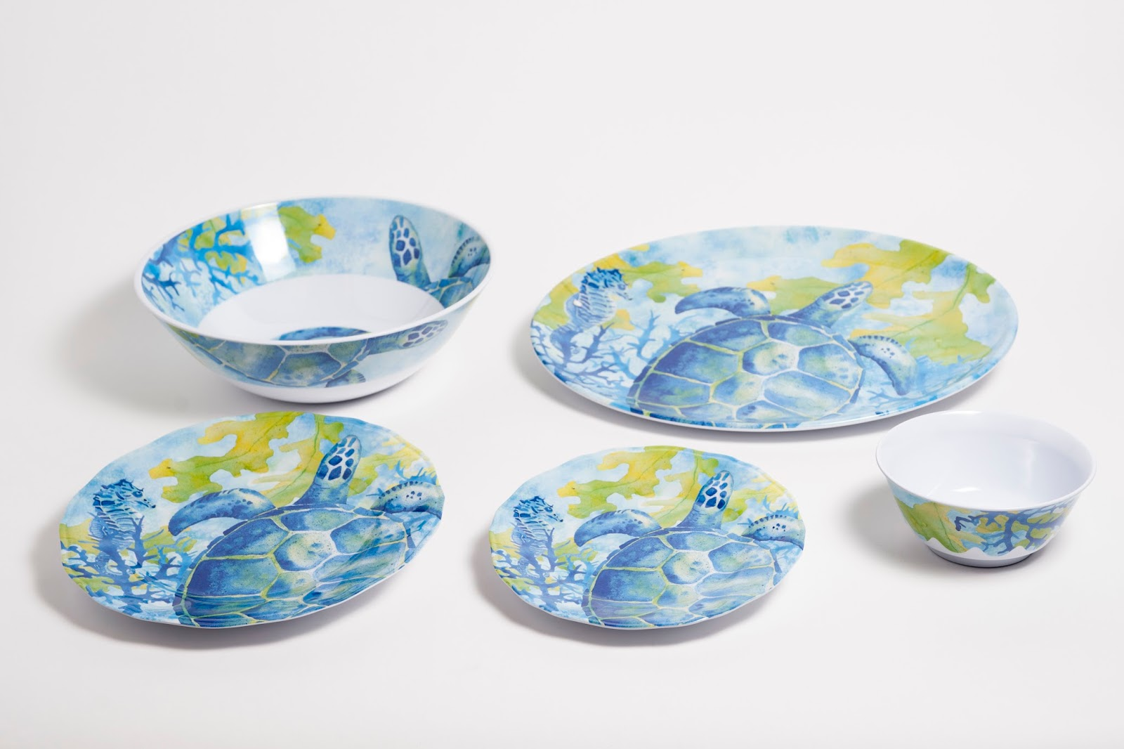 Everything Coastal. & Everything Coastal....: Patio Perfection - Fun Outdoor Dinnerware
