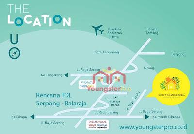 Lokasi TOL Serpong Balaraja www.rumah-hook.com