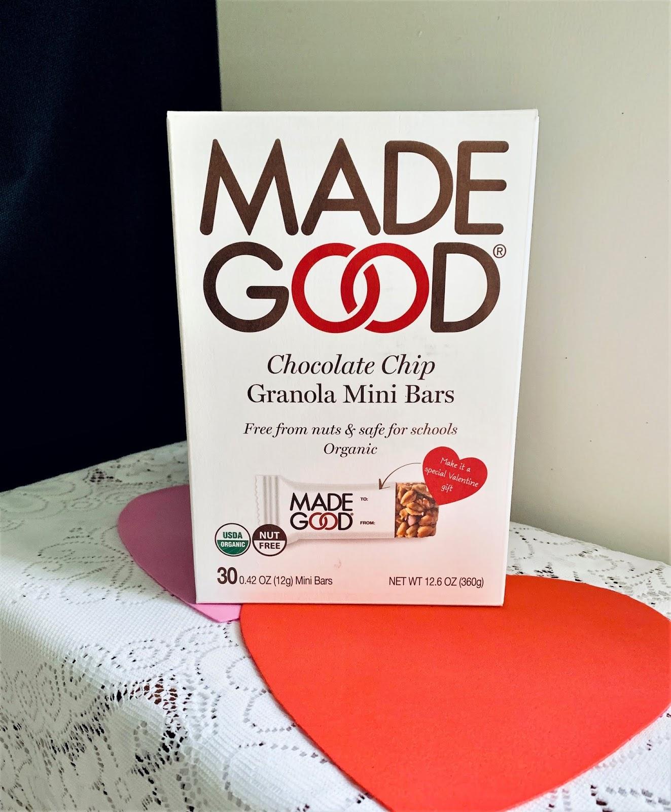 Made Good Mini Granola Bars are Allergen-friendly #ad