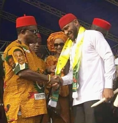 Nigerian actor come politician Yul Edochie took to the gram to reveal that he is now the SSA to the Governor of Anambra State