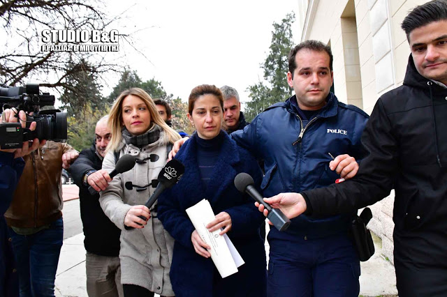 """Συνεχίστηκε σήμερα στο Ναύπλιο η δίκη για τη """"χήρα της Κοιλάδας"""""""