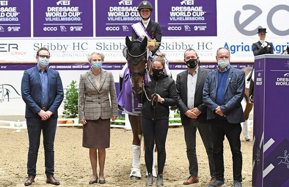 Princess Benedikte is patron of the Dressage World Cup. The 2020 FEI Dressage Cup at the National Equestrian Center in Vilhelmsborg in Aarhus