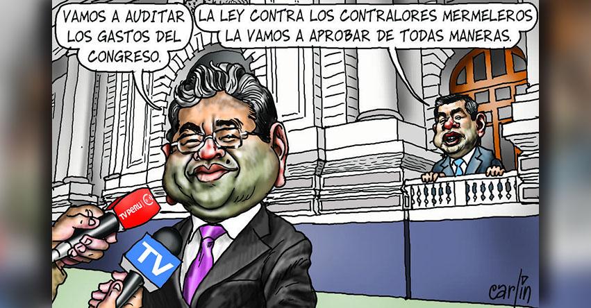 Carlincaturas Jueves 31 Mayo 2018 - La República