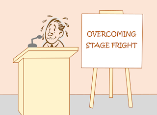 why we tend to make mistakes when talking before an audience