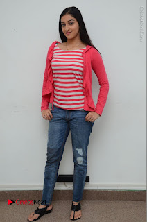Telugu Actress Mouryani Latest Pos in Blue Denim Jeans  0215.JPG
