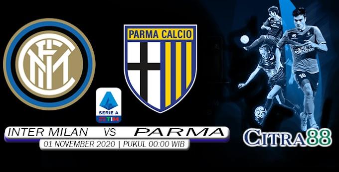 PREDIKSI INTER MILAN VS PARMA 1 NOVEMBER 2020