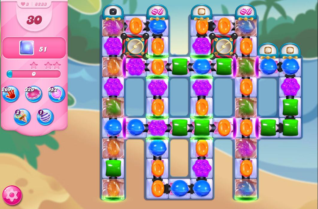 Candy Crush Saga level 8233