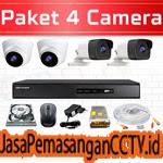 Paket Pasang CCTV 4 Kamera