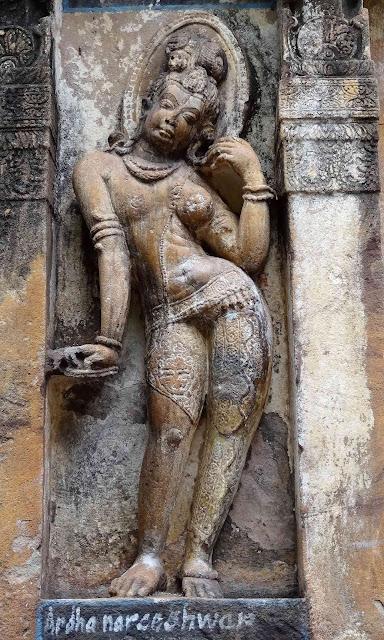 Ardhanarishwara Sculpture of Mahakuta