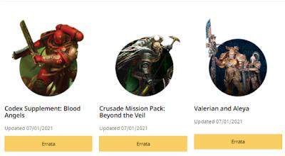 Actualización Warhammer 40,000