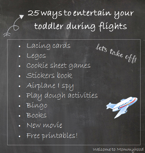 Travel Series: Air Travel Tips with Toddlers by Welcome to Mommyhood