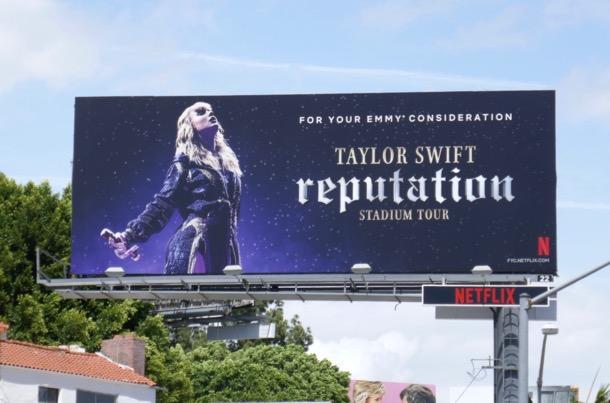 Taylor Swift Reputation Tour Emmy FYC billboard