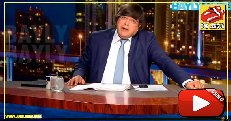 Jaime Bayly asegura que Nicolás Maduro es la representación de Lucifer con bigotes.