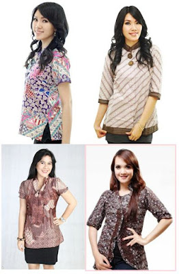 Model Baju Kemeja Batik