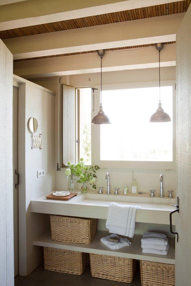 Baños rústicos para una decoración con estilo, ideas, consejos e inspiración