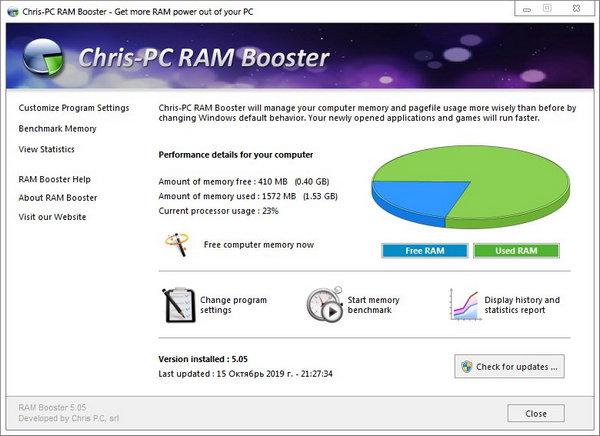 Chris PC%2BRAM%2BBooster