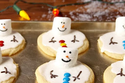 ★★★★★ | Melted Snowman Cookies