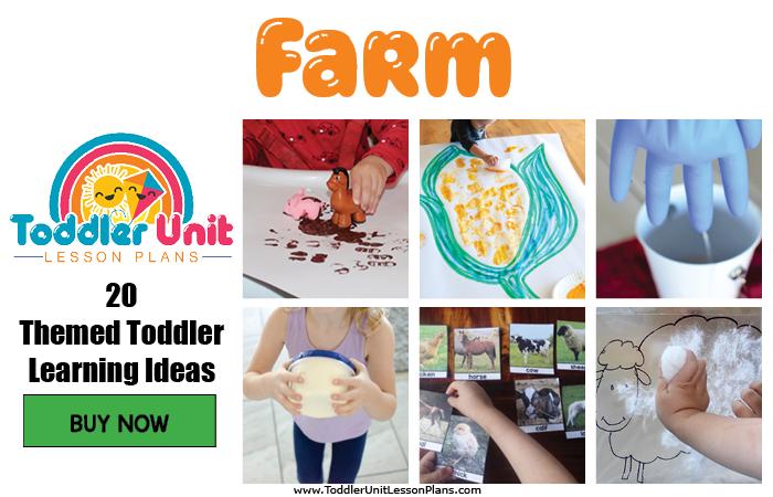 Toddler lesson plans - farm