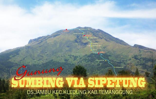 7 Jalur Pendakian Gunung Sumbing yang Wajib Kalian Ketahui