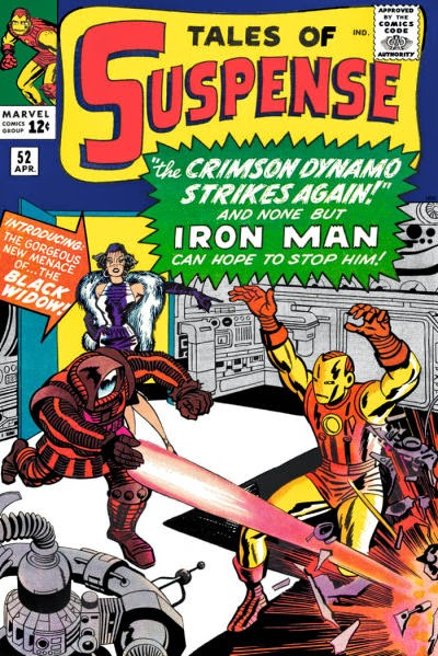 Tales of Suspense #52, Iron Man vs the Crimson Dynamo