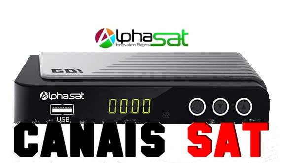 Alphasat GO! Nova Atualização V1.3.5 - 03/08/2019