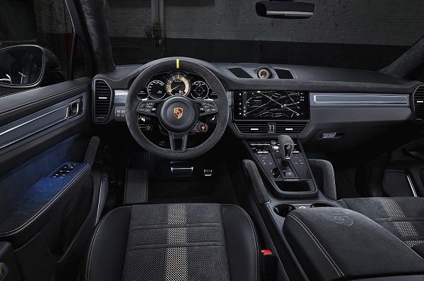 Interior Porsche Cayenne Turbo GT
