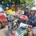 Komunitas Sepeda Expedition Sinjai Serahkan Langsung Bantuan Korban Gempa Sampai di Mamuju