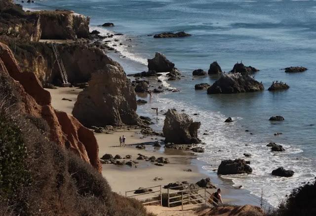 El Matador Beach Los Angeles, USA