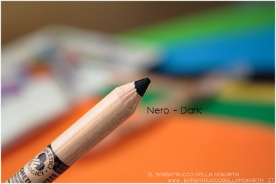 nero recensione LIGHT DARK review Miss trucco matite Your Color eyes