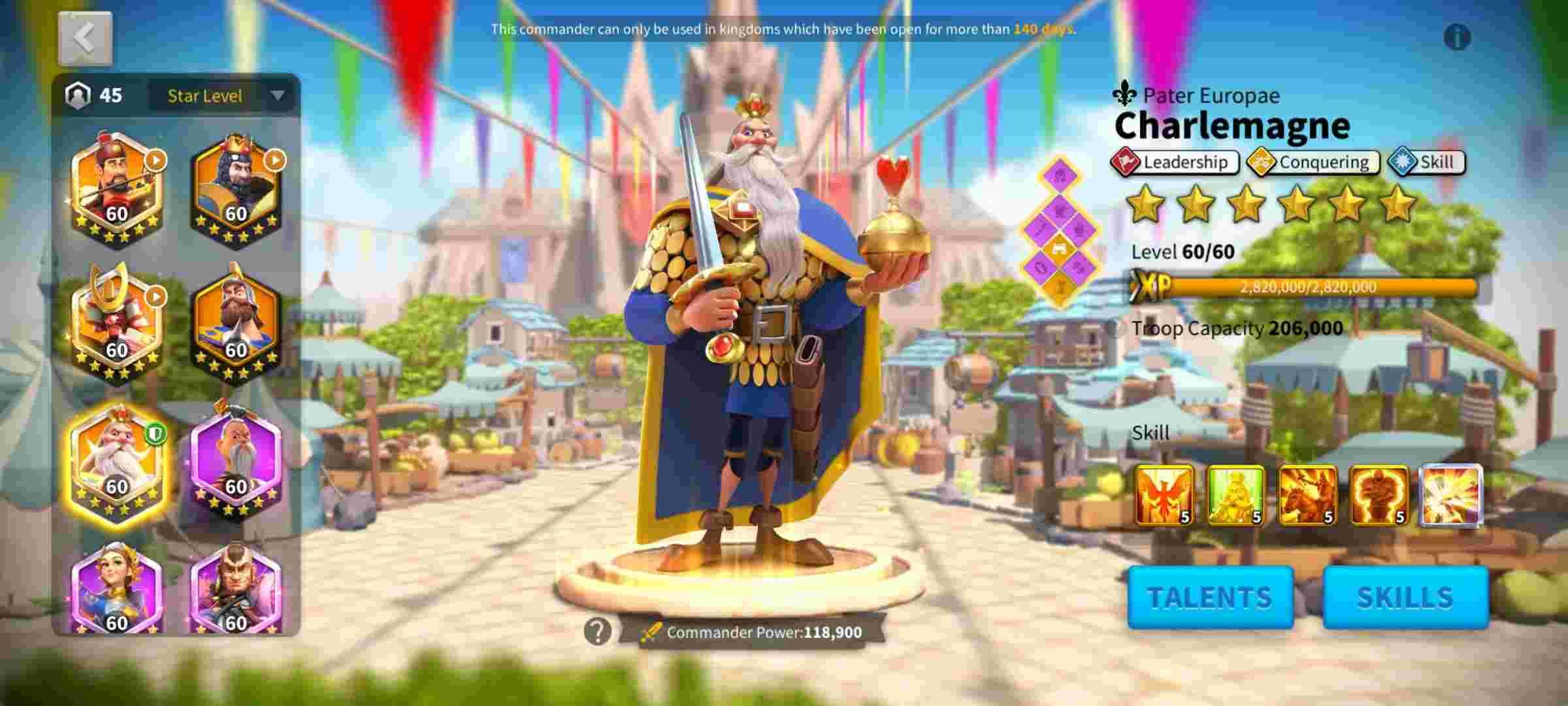 charlemagne rise of kingdoms rok