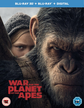 War of the Planet of the Apes (2017) Dual Audio 480p BluRay 450MB