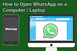 Cara Membuka dan Gunakan WhatsApp di Komputer PC/Laptop