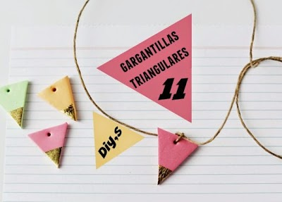 11 Gargantillas Triangulares Diys