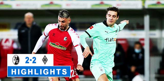 Freiburg vs Borussia M'gladbach – Highlights