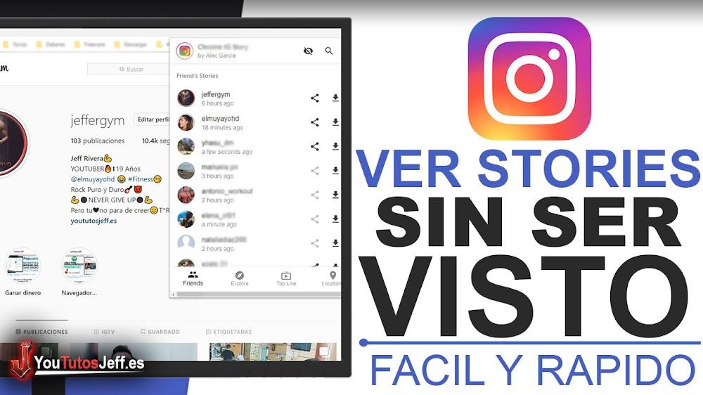 Ver Stories y Directos de Instagram sin que lo Sepan - Trucos Instagram