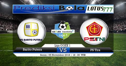 PREDIKSI Barito Putera vs PS Tira 05 NOVEMBER 2018