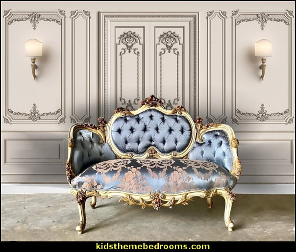 French Marquis French Sofa Corbeille Louis XVI Furniture French Settee