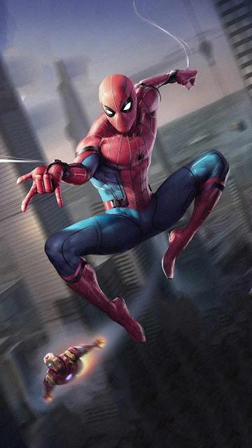 Marvel superhero wallpaper 4k
