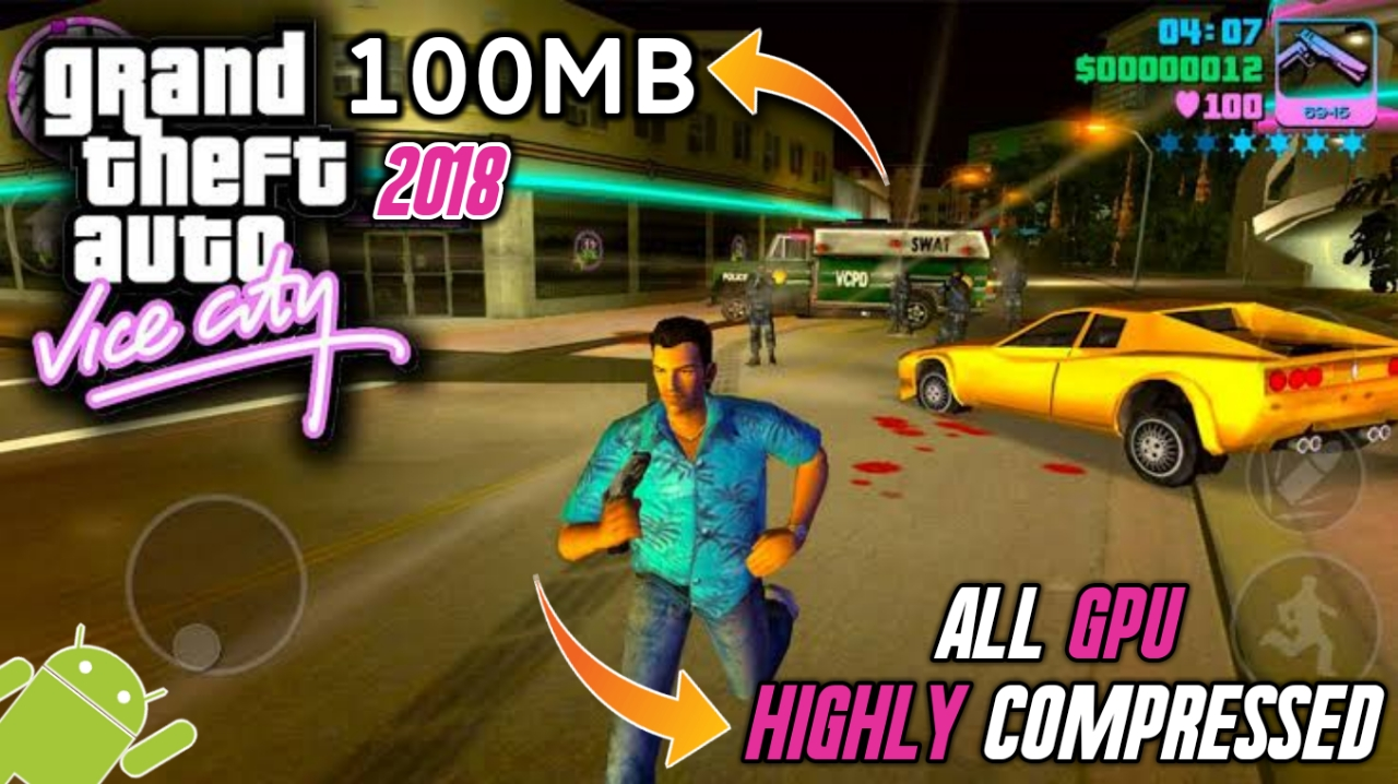 gta vice city full version game for android free download
