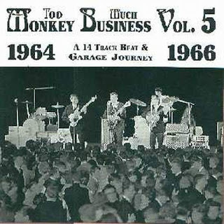 VA -Too Much Monkey Business - 23 Global Beat 'n' Garage Raves from 64-67!