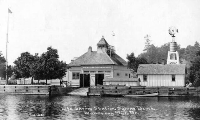 US Life Saving Station Pentwater