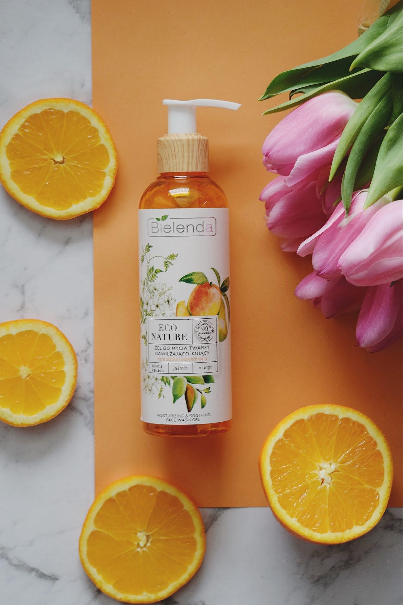 Bielenda eco nature - żel do mycia twarzy nawilżająco - kojący `Śliwka kakadu + jaśmin + mango` - recenzja