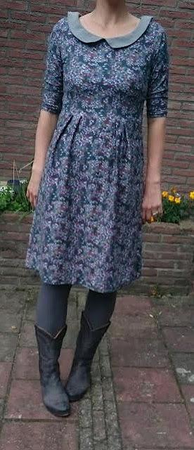 lila-lotta design jurk