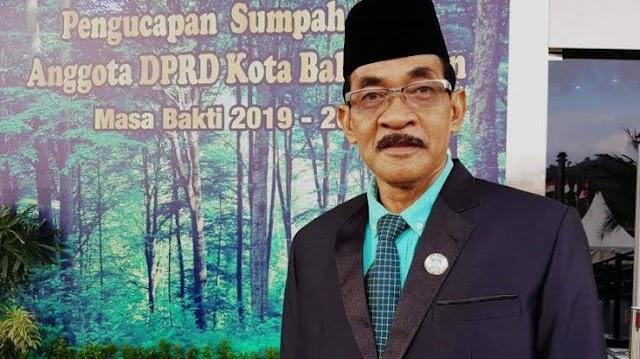 Sekretaris DPRD Kota Balikpapan Tutup Usia