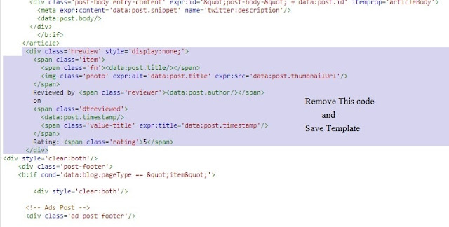 Know How to Fix Item does not support reviews error in blogger?